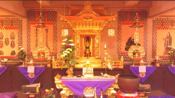 川口元郷聖地 本堂のお正月飾り2017010816070002.jpg