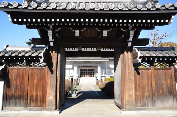 埼玉県伊奈町の寺院 松福寺 しょうふくじDSC_0091 山門