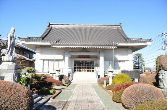 埼玉県伊奈町の寺院 松福寺 しょうふくじDSC_0095 本堂