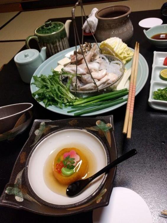 浜松旅行に行ってきました 浜名湖畔の舘山寺温泉に宿泊 フグ料理 IMG_20170201_191236