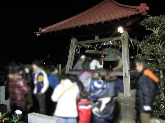 東明寺の除夜の鐘 除夜会(じょやえ)IMG_3404