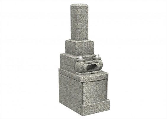 埼玉県上尾市の寺院 馬蹄寺の永代供養付き夫婦墓 和型 墓石 高級型 G623