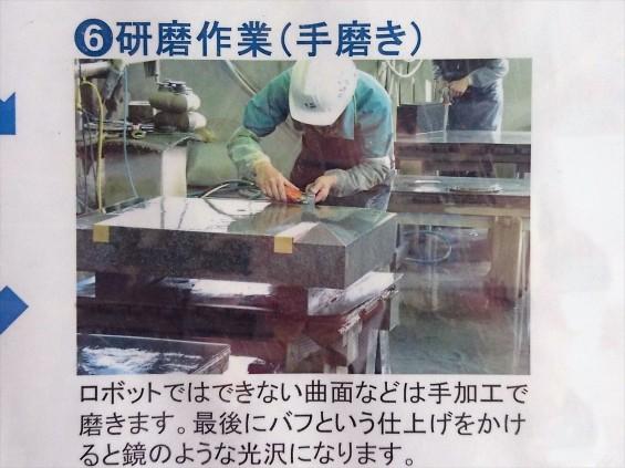 埼玉県上尾市 石材店の中庭 展示場 お墓ができるまで 看板6 17-03-30-14-51-45-826_photo