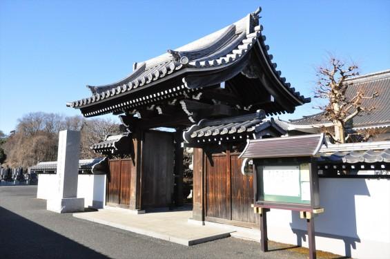埼玉県伊奈町の寺院 松福寺 しょうふくじDSC_0104 山門
