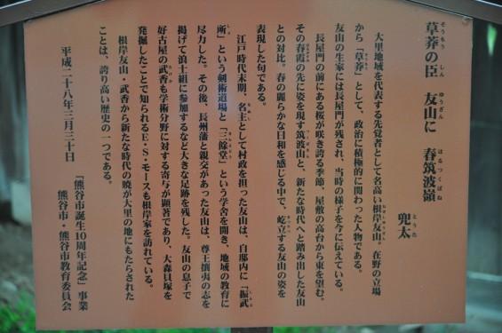2017年4月 埼玉県熊谷市  幕末の志士 根岸友山 根岸家長屋門 満開の桜DSC_1248
