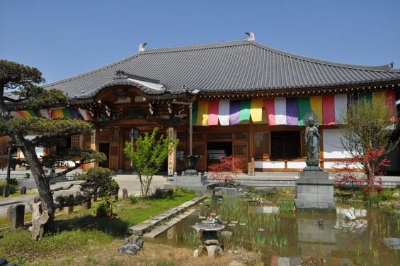 2017年4月14日 上尾市仏教会顧問会総会 今年の会場は遍照院でした 境内の様子 本堂 DSC_1557