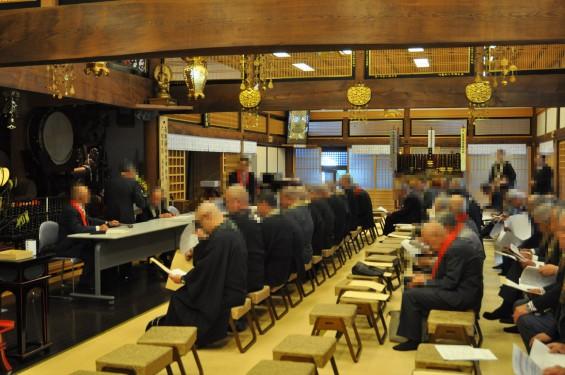 2017年4月14日 上尾市仏教会顧問会総会 今年の会場は遍照院でした 総会風景 模様 様子DSC_1669