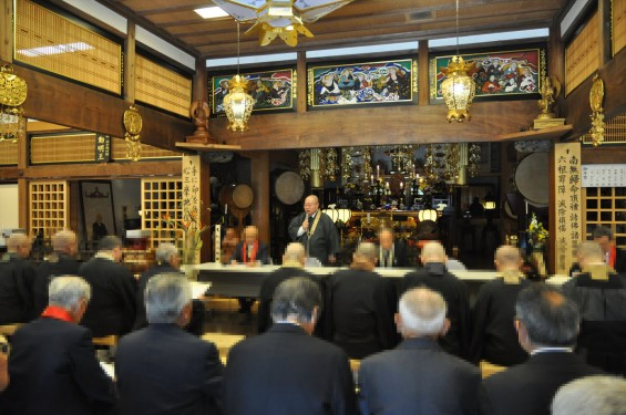 2017年4月14日 上尾市仏教会顧問会総会 今年の会場は遍照院でした 総会風景 模様 様子DSC_1635