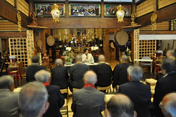 2017年4月14日 上尾市仏教会顧問会総会 今年の会場は遍照院でした 大佛師 仏師 松本明慶氏 講話 講演会 おはなしDSC_1684