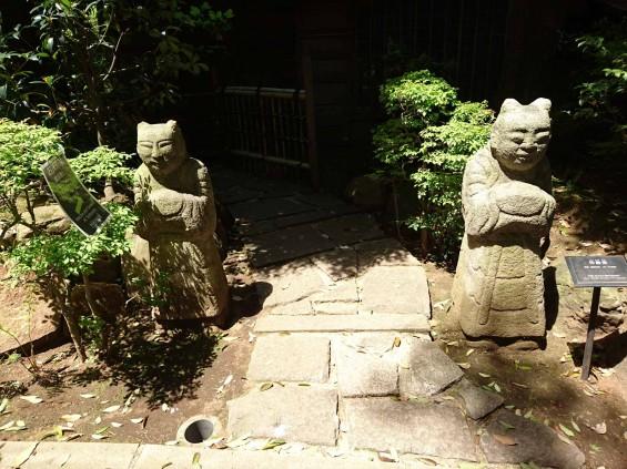 2017年5月 ゴールデンウィーク 東京 南青山 根津美術館 に行ってきました 石彫刻 夫婦像 DSC_5997