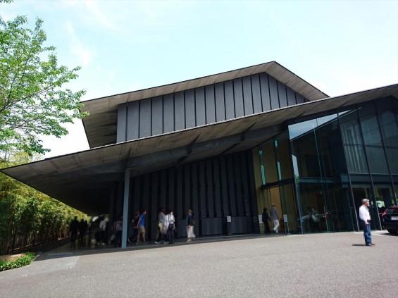 2017年5月 ゴールデンウィーク 東京 南青山 根津美術館 に行ってきました 建物外観 駐車場DSC_6032