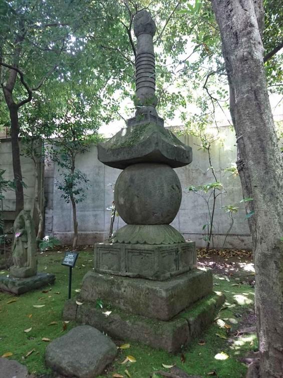 2017年5月 ゴールデンウィーク 東京 南青山 根津美術館 に行ってきました 石造宝塔 南北朝時代 大分 国東塔DSC_5978